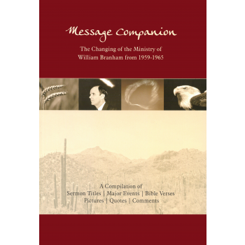 Message Companion & Backside of the Desert